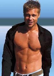 Brad Pitt sin ropa
