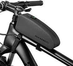 ROCKBROS Bike Top Tube Bag Bicycle Front Frame ... - Amazon.com