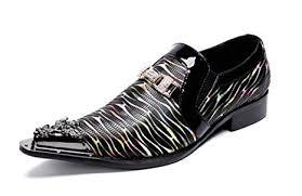 GLSHI <b>Men Pointed</b> Oxford Brogue <b>England</b> Leather Handmade ...