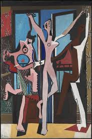 pablo picasso the three dancers oil on canvas style me pablo picasso the three dancers 1925 oil on canvas