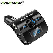 Onever Car MP3 Player <b>Bluetooth FM Transmitter Wireless</b> Audio ...
