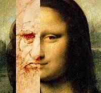 """El Misterio de La Mona Lisa. Una casualidad llevó a descubrir ciertas similitudes entre el retrato digitalizado de Leonardo Da Vinci y su obra """"La mona ... - El-Misterio-de-La-Mona-Lisa"""