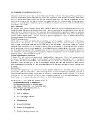 autobiographical narrative essay topics Resume Template   Essay Sample Free Essay Sample Free