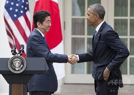 「安倍首相 ホワイトハウス」の画像検索結果