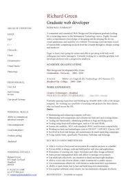 professionally designed graduate cv examples recent graduate resume samples