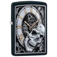 Зажигалка Zippo 218 Skull Clock Design Черная (Zippo ... - ROZETKA