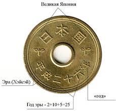 Датировка монет <b>Японии</b> - как расшифровать иероглифы