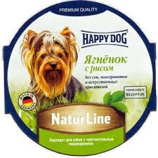 Купить <b>Консервы Happy Dog Natur</b> Line ягненок с рисом для ...