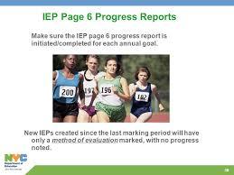 IEP Progress Report Sample The ASHA Leader Blog