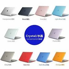 <b>Crystal</b> Clear <b>Laptop Cover</b> Hard Shell Case for All Apple Macbook ...
