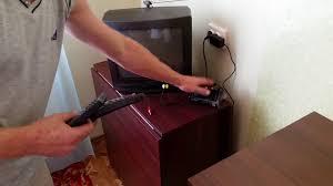 Как подключить тюнер Т2 к старому телевизору - YouTube
