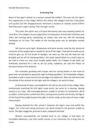 personal narrative essay sample and video instructions where to get a proofread personal narrative essay sample  useful recommendations