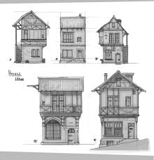 Small House Plans and Designs  houses sketches   Friv GamesSketch Drawings Medieval Houses