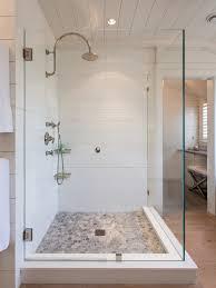 bathroom white tiles: saveemail bfcc  w h b p beach style bathroom