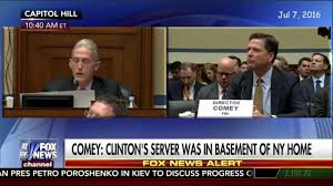 Image result for james comey hillary