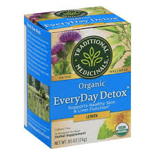 Traditional Medicinals Herbal Supplement, <b>Organic</b>, <b>Everyday Detox</b> ...