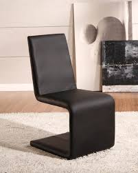 faux leather dining chair black: john lewis modern unique shape armless upholstered dining chair design feature dark brown faux leather upholstery perfect for modern dining room as