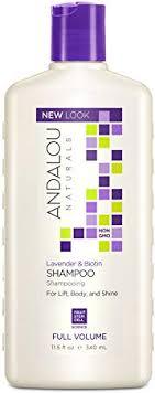 Andalou Naturals <b>Full</b> Volume Shampoo, <b>Lavender</b> and <b>Biotin</b>, 11.5 ...