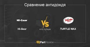 Что лучше - антидожди <b>Hi</b>-<b>Gear</b> или TURTLE WAX: сравнение ...