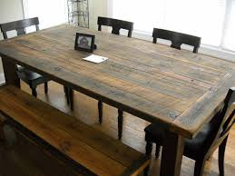 real rustic kitchen table long:  rustic wooden kitchen table kitchen table rustic farmhouse kitchen table made from reclaimed wood