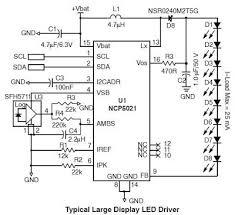 diagram ingram high voltage white led driver main features of the ncp5021 high voltage led driver are 2 7 to 5 5 v input voltage range 90% peak efficiency 4 7 h 150 m inductor gradual