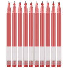 <b>Ручки гелевые Xiaomi Mi</b> Jumbo Gel Ink Pen 10 шт. (красный ...