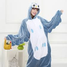 New <b>Hot Sale Lovely</b> Cheap Blue <b>Owl</b> Kigurumi Pajamas Anime ...