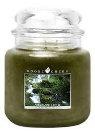 <b>Ароматическая свеча</b> Patchouli <b>Leaves</b> (Листья пачули) Goose ...