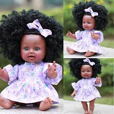 <b>Hot sale Fashion</b> Clothes Doll Clothes Black Girl Dolls African ...