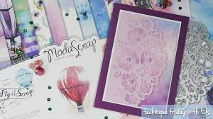 Romantic Bouquet Card | Technique Friday with Els - YouTube