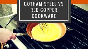 Gotham Steel vs <b>Red</b> Copper - <b>10 pcs</b> Cookware Set Comparison