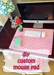 diy home office decor ideas diy custom mouse pad do it yourself desks build home office header