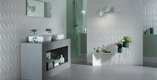 <b>3D Wall</b> Design Bathroom Wall Tiles - <b>Atlas Concorde</b>