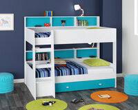 «<b>Кровать двухъярусная golden kids 1</b> белый, зеленый ...