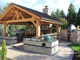 Outdoor Kitchen 17 Best Ideas About Covered Outdoor Kitchens On Pinterest