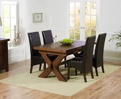 nice dark oak dining tables homelegance ameillia extension rectangular amazing dark oak dining