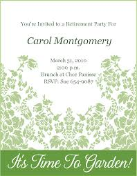 retirement invites template info retirement wording and clipart clipart kid