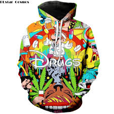 <b>PLstar Cosmos</b> 2019 Autumn New <b>Fashion</b> 3d Hoodies Cartoon ...
