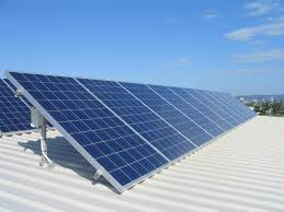 Image result for solar panels + building