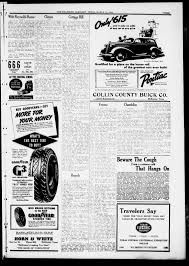 the mckinney examiner mckinney tex vol no ed  the mckinney examiner mckinney tex vol 50 no 20 ed 1 thursday 12 1936 page 3 of 10 the portal to texas history