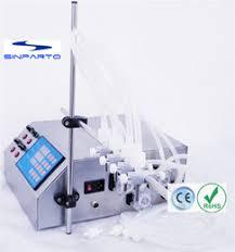 ce rohs single nozzle peristaltic pump filling machine gzl 50 e liquid perfume filler