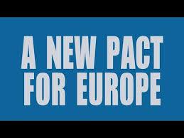 <b>New</b> Pact for <b>Europe</b> – Promoting the <b>European</b> Debate