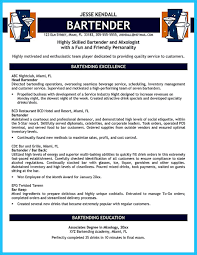 bartendending responsibilities resume sample and bartending resume bartendending responsibilities resume sample and bartending resume