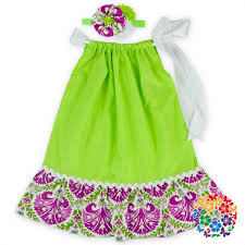 hot sale frock design baby girls dresses cheap fancy lime green girls party pillowcase dresses with baby girl dress designs