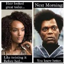 28 of Our Favorite Natural Hair Memes | Black Girl with Long Hair via Relatably.com