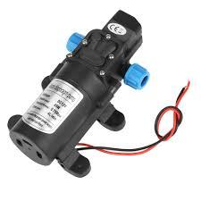 <b>DC 12V 45W</b> Micro Diaphragm Water Self Priming Pump Low noise ...