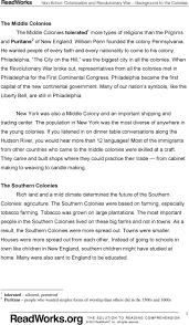 colonization and the revolutionary war background to the colonies when the revolutionary war broke out representatives from all the colonies met in philadelphia for