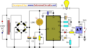 midnight security light circuit schematic circuit diagrammidnight security light circuit schematic diagram
