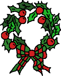 Image result for christmas wreath clip art
