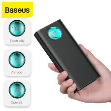 Портативное <b>зарядное устройство Baseus</b>, 20000 мАч, 18 Вт ...